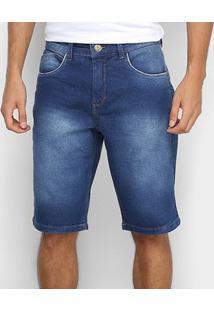 Bermuda Jeans Tks Reta Estonada Masculina - Masculino