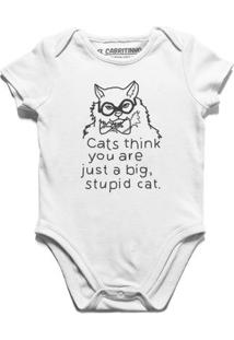 Stupid Cat - Body Infantil