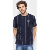 Camiseta Lacoste Detalhe Listras Masculina - Masculino 81d6d81624