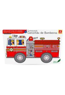 Jogo Americano Caminhão De Bombeiros - Brincadeira De Criança - 5261 - Multicolorido
