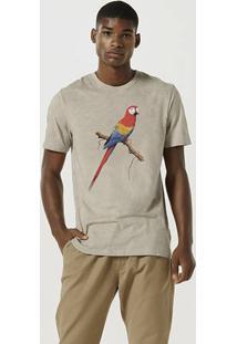 Camiseta Masculina Slim Manga Curta Estonada