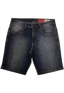 Bermuda Mcd Jeans Walk Slim Stone Masculina 12123404 - Masculino