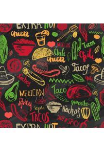Papel De Parede Adesivo Cozinha Mexicana (0,58M X 2,50M)