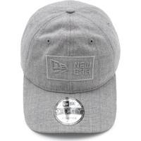 4dc4c4c1ddba3 Boné New Era 940 Essentials Fleece Kit Cinza