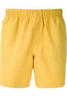 Osklen Short Sport Com Bolsos - Amarelo