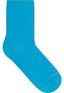 Meia Casual Soquete Colcci - Feminino-Azul