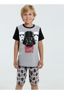 Pijama Infantil Darth Vader Star Wars Disney