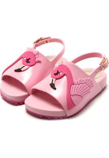 Sandália Luelua Flamingo Rosa