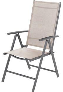 Cadeira Tamandua Amendoa Tela Bege 1,07 Mt (Alt) - 43507 - Sun House