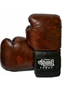 Luva De Boxe Muay Thai Vintage Spank - 14Oz - Unissex
