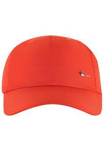 Boné Aba Curva Nike Sportswear H86 Metal Swoosh - Strapback - Adulto -  Vermelho Prata 8b3020ee625