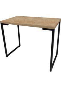 Mesa Para Computador Escrivaninha Porto 90Cm Natura - Fit Mobel
