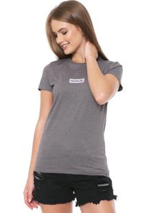 Camiseta Hurley Hot Box Cinza