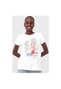 Camiseta Guess Charmed Branca