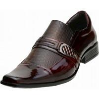 1f2a014c86 Sapato Social Gofer - Masculino-Vinho