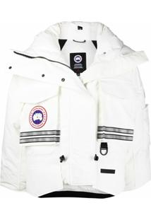 Canada Goose X Angel Chen Cropped Snow Mantra Jacket - Branco