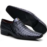 e9be512c4 Sapato Social Couro Calvest Aspen Masculino - Masculino-Preto