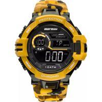 Relógios Amarelo Mormaii masculino   Shoes4you 1e0d200d43