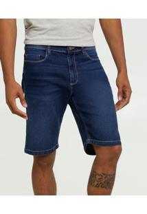 Bermuda Masculina Jeans Stretch Mr