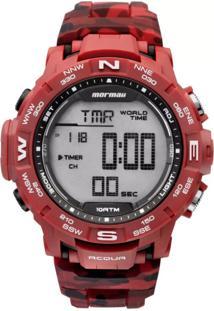 Relógio Mormaii Digital Action Mo1173A8R Vermelho
