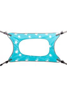 Cama Primeiro Sono Estrelas - Azul Claro & Branca- 2Marcus & Marcus