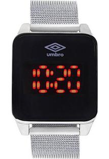 Relógio Umbro Digital 51 - Unissex-Prata