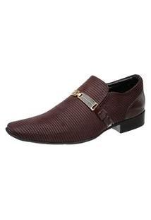 Sapato Social Jota Pe Vinho Air 72383