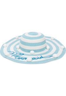 Monnalisa Mermaid Sun Hat - Azul