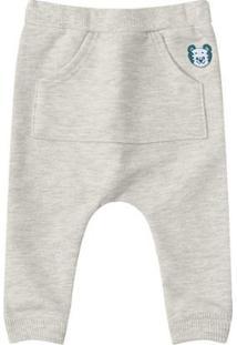 Calça Tigor T. Tigre Bebê Masculino - Masculino-Cinza