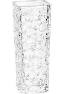 Vaso Bubble Em Cristal- Cristal- 15,5X6,5X6,5Cm-Rojemac