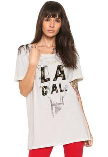 Camiseta Replay Violão Lacal Bege