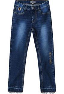 Calça Tigor T. Tigre Infantil Masculina - Masculino-Azul