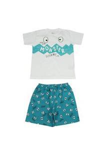 Pijama Curto Brilha No Escuro Elian