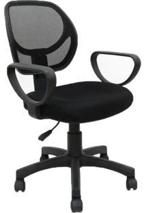 Cadeira De Escritório Secretária Evora Preta