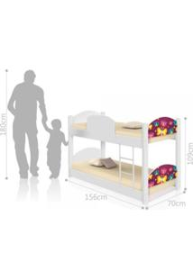 Beliche Infantil Borboletas Casah - Branco/Multicolorido - Menina - Dafiti