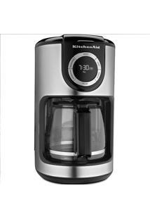 Cafeteira Elétrica Programável 1,9 Litro 127V Prata Kitchenaid