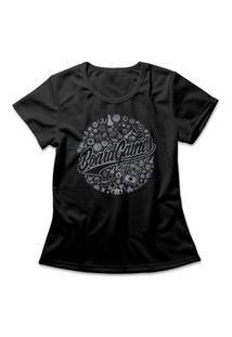 Camiseta Feminina Boardgames Preto