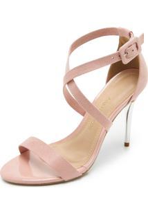 3120282fd2059 Sandália Ana Hickmann Rosa feminina   Shoes4you