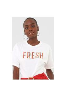 Camiseta Morena Rosa Fresh Off-White