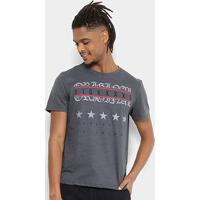 00fe286364 Camiseta Tigs Flamê Estampada Masculina - Masculino