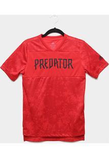 Camisa Infantil Adidas Jb Predator Jsy Masculina - Masculino