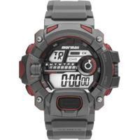 e18cc6653855e Relógio Masculino Mormaii Digital Action Mo1132Ae  - Unissex-Grafite
