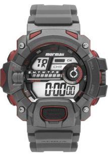 Relógio Masculino Mormaii Digital Action Mo1132Ae/ - Unissex-Grafite