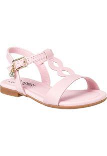 e43d37910 Sandália Para Menina Camurca Tom Claro infantil   Shoes4you