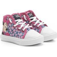 c3a0c330622 Netshoes. Tênis Infantil Disney Cano Alto Minnie Menina - Feminino