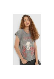 Camiseta Colcci Enigma Cinza
