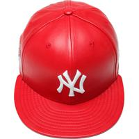 435dcae72283f Boné New Era 5950 Spike Lee Leather Ex New York Yankees Vermelho