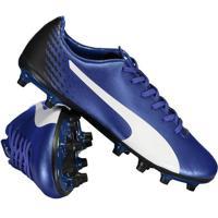 Home Vestuário Esportivo Chuteiras Azul Impermeavel. Chuteira Puma Evospeed  17.5 Fg Campo Azul c2e15749b1bfa