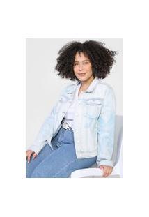 Jaqueta Jeans Desigual Whaii Azul