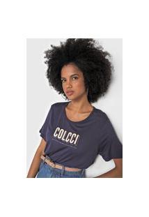 Camiseta Colcci Logo Azul-Marinho